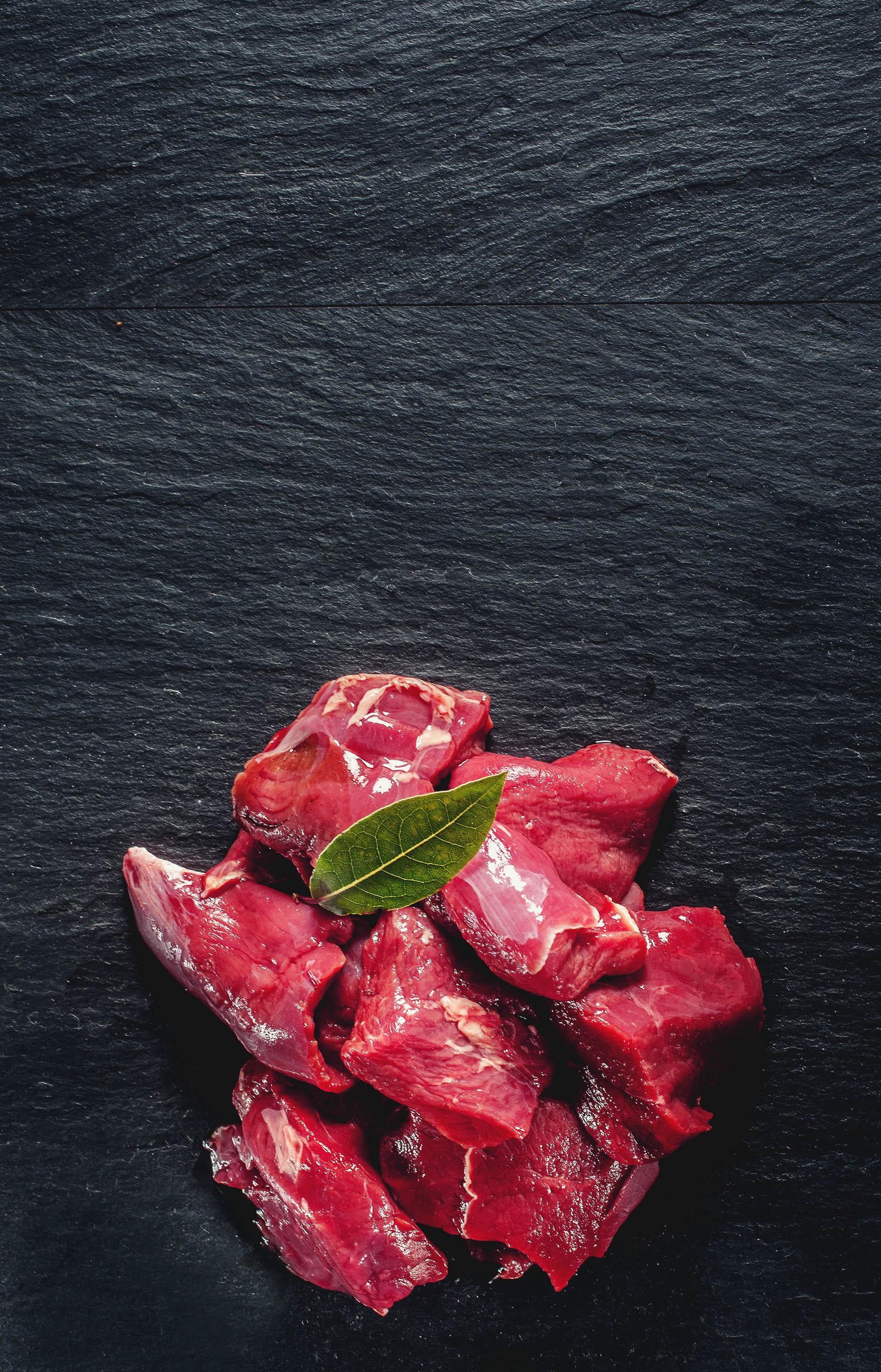 Cervine venison for a tasty venison goulash
