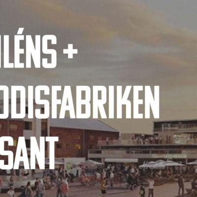 Diléns Gourmandis bygger ny lokal i Godisfabrikeni Gävle